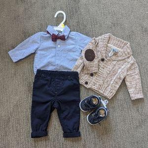 3m baby boy matching set